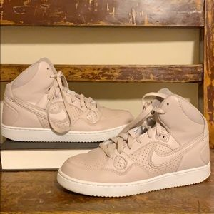 Nike Son of Force High Top Sneakers Blush Pink